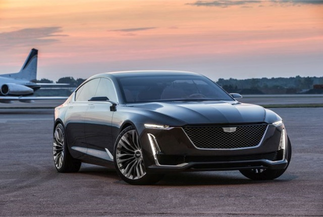 Photo of the Escala concept sedan courtesy of Cadillac.