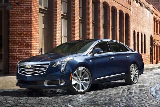 Photo of 2018 Cadillac XTS courtesy of GM.