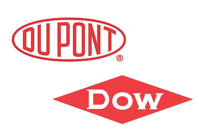Logos courtesy of Dow, DuPont.