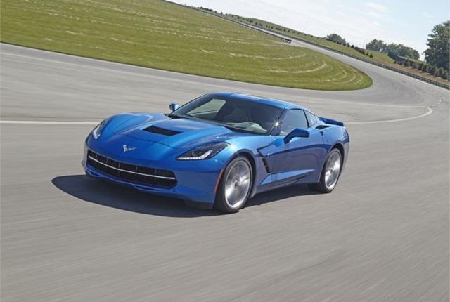 Photo of 2015 Chevrolet Corvette courtesy of GM.