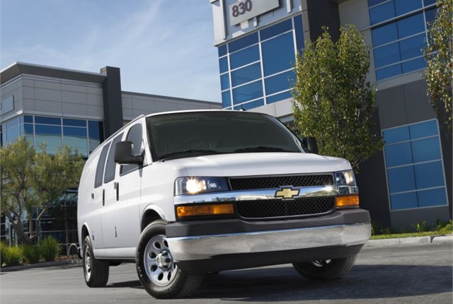 Photo of 2014 Chevrolet Express courtesy of GM.