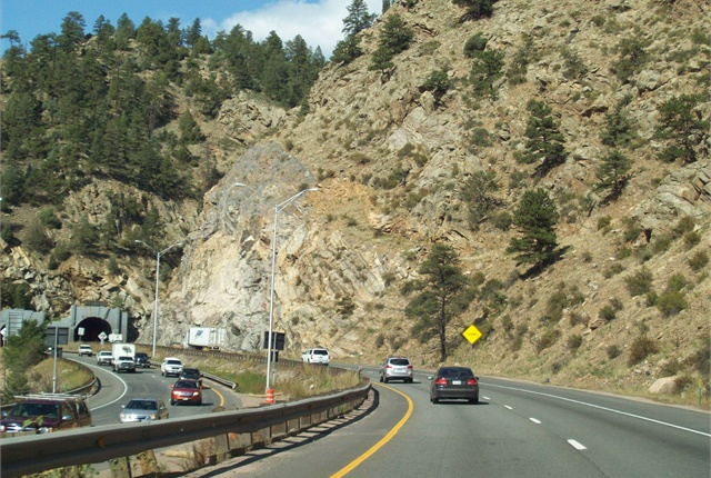 Photo of Colorado roadway courtesy of Wikimedia Commons.