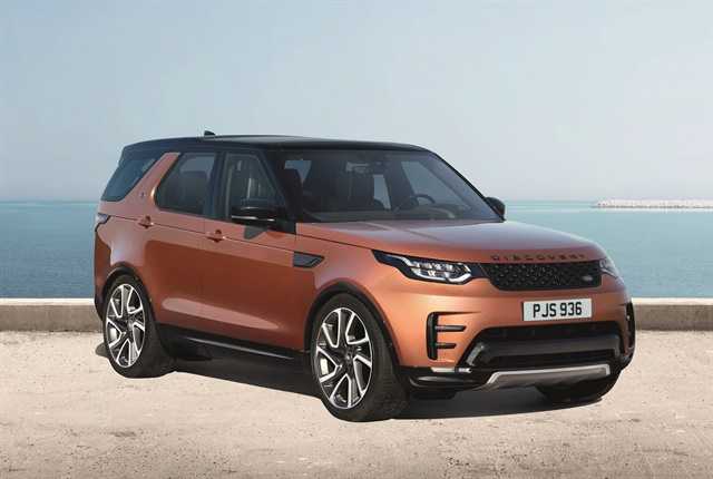 Photo of the Land Rover Discovery courtesy of Land Rover.