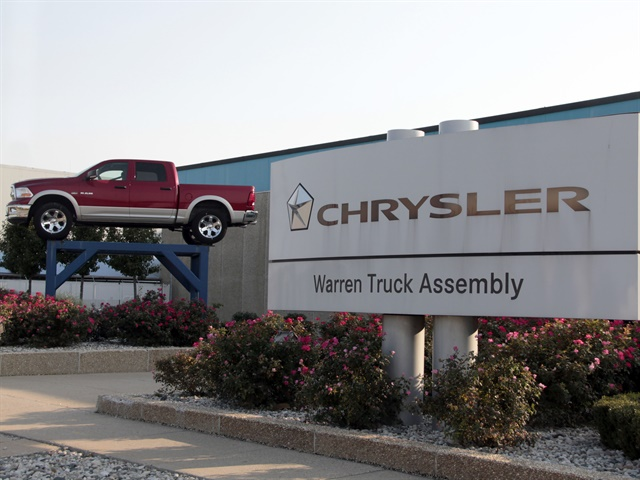 Photo of Warren Truck Assembly Plant courtesy of FCA.