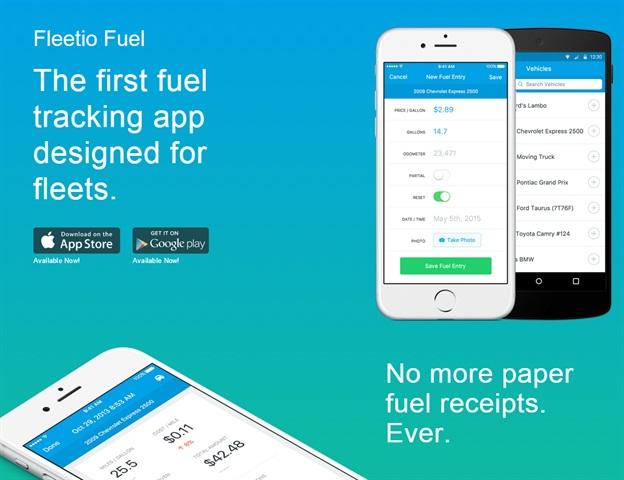 Screen capture from Fleetio site.