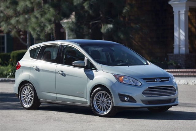 Photo of 2014 C-MAX Hybrid courtesy of Ford.