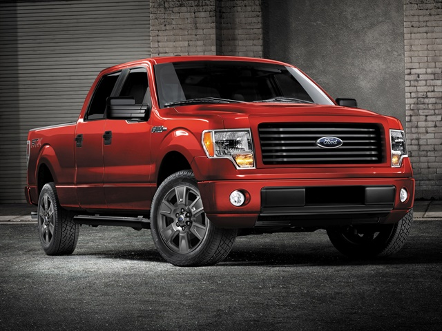 Photo of 2014 F-150 STX SuperCrew courtesy of Ford.