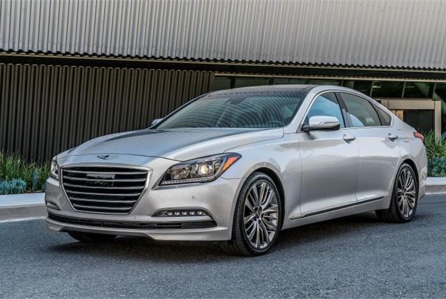 Photo of 2017 Genesis G80 courtesy of Hyundai.