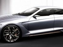 Genesis Reveals Hybrid Sports Sedan Concept Car