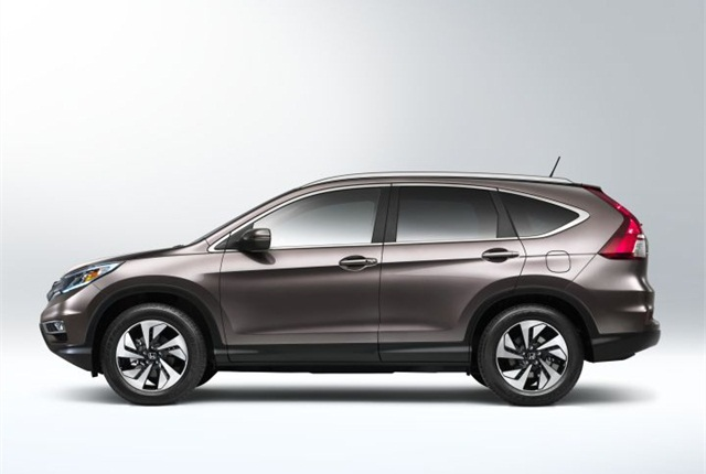 Photo of 2016 CR-V courtesy of Honda.
