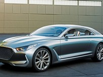 Hyundai Shows Vision G Coupe Concept
