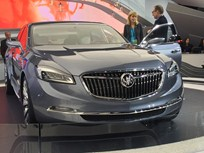 Buick Shows Luxury Sedan Concept in Detroit