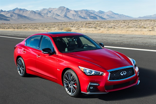 Photo of 2018 Q50 courtesy of Infiniti.
