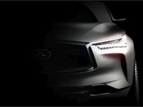 Infiniti Teases Mid-Size SUV Concept