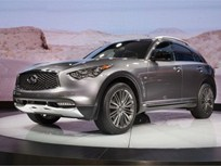 Infiniti Offers 2017 QX70 Limited Luxury SUV