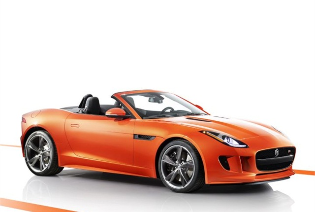 Photo of 2015 F-Type Convertible courtesy of Jaguar.