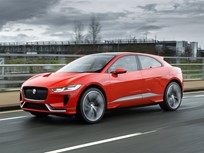 Jaguar Begins Testing I-Pace in London