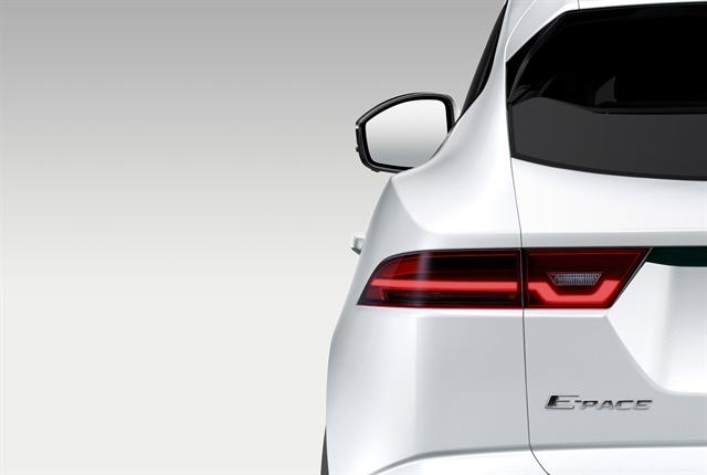 Photo of 2018 E-Pace courtesy of Jaguar Land Rover.
