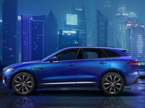 Jaguar Shows F-Pace SUV Ahead of Frankfurt