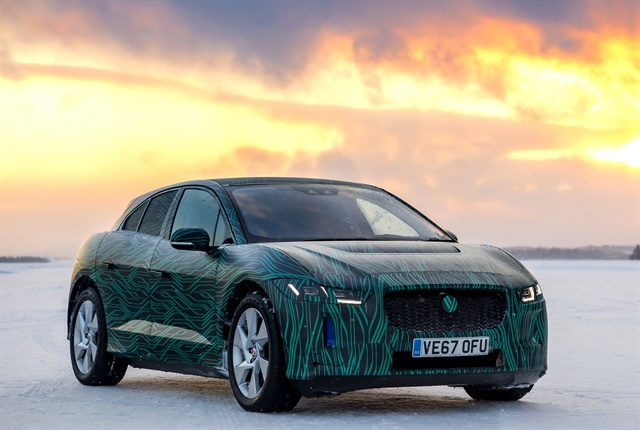 Photo on I-Pace courtesy of Jaguar Land Rover.