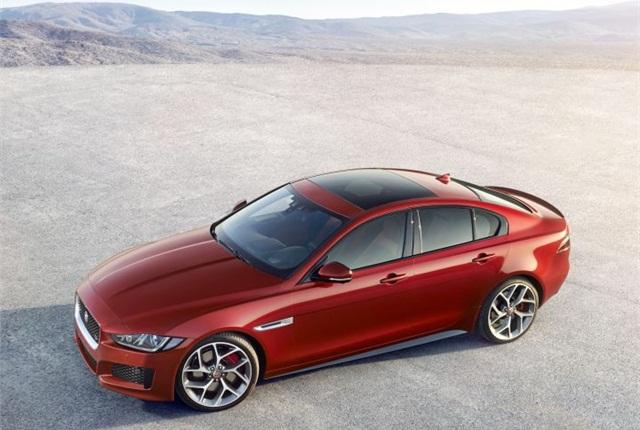Photo of 2016 XE courtesy of Jaguar.