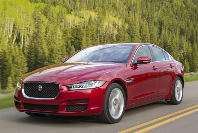 Photo of the 2018 XE 20d courtesy of Jaguar.