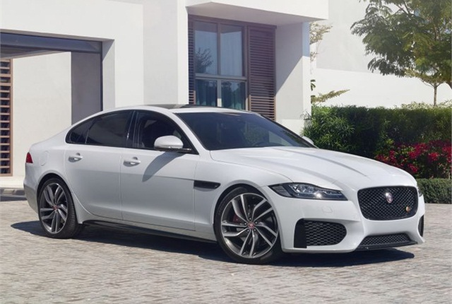 Photo of 2016 XF S courtesy of Jaguar Land Rover.