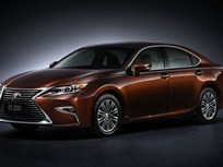 Lexus Refreshes ES Sedan for 2016