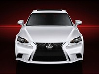 Lexus Releases Photos of the Next-Generation IS Compact Sedan