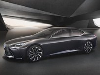 Lexus Shows Fuel Cell Concept in Tokyo