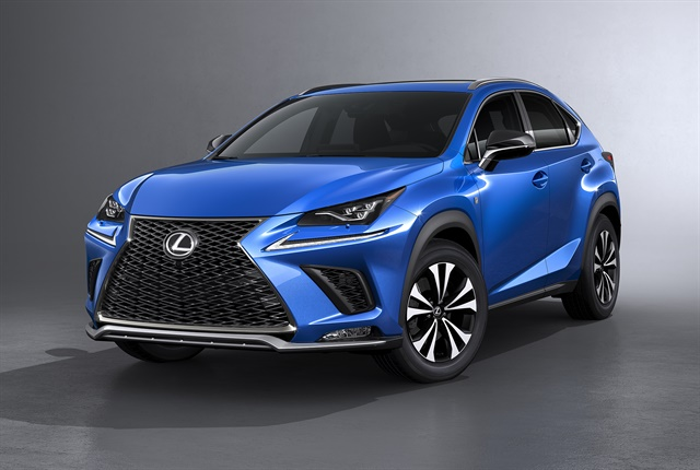 Photo of the 2018 NX courtesy of Lexus.