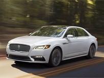 2017 Lincoln Continental Starts at $45,485