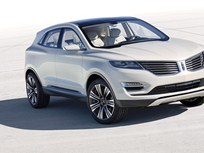 Lincoln Shows MKC Concept Luxury Small Utility in Detroit
