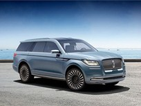 Lincoln's Navigator Concept Emphasizes 'Quiet Luxury'