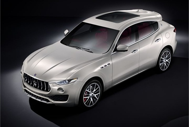 Photo of Levante luxury SUV courtesy of Maserati.