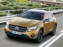 Mercedes-Benz Tweaks GLA for 2018
