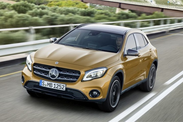 Photo of 2018 GLA250 courtesy of Mercedes-Benz USA.