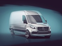 Mercedes-Benz Gives Glimpse of Next Sprinter Van