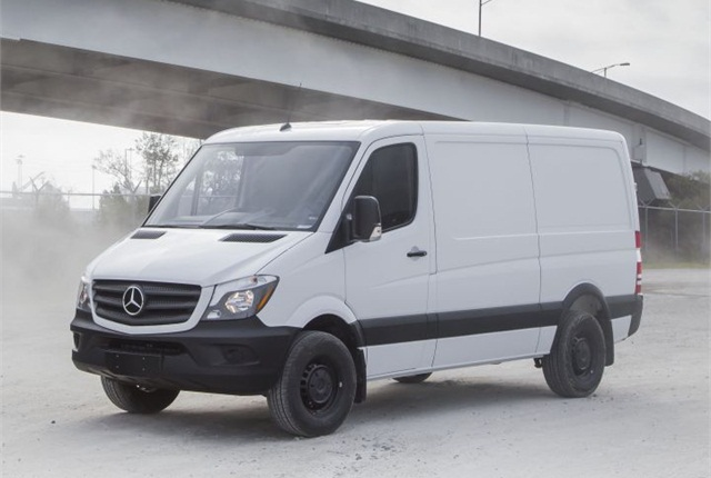 mercedes benz offers sprinter worker model leasing. Black Bedroom Furniture Sets. Home Design Ideas