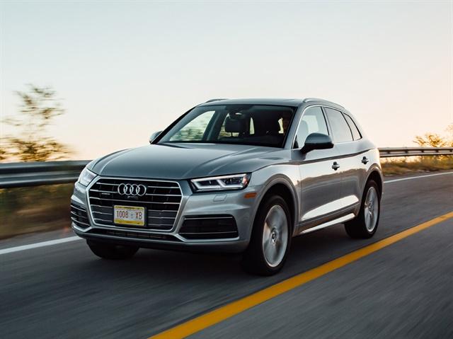Photo of 2018 Q5 courtesy of Audi.