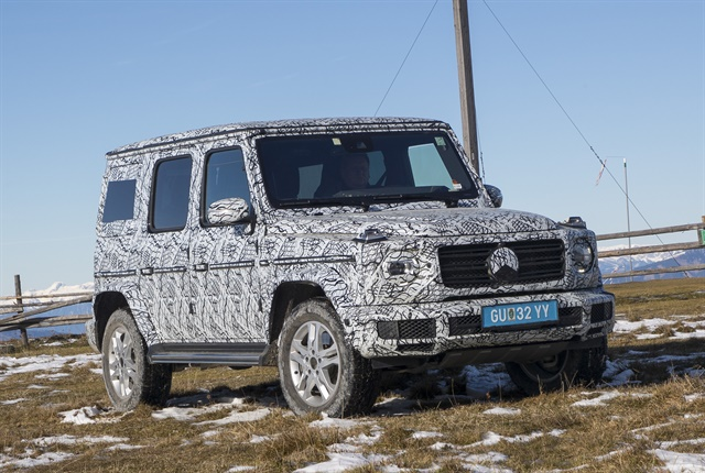 Photo of 2019 G-Class courtesy of MBUSA.