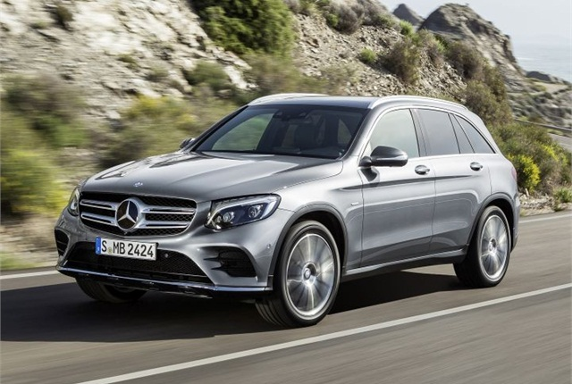 Photo of 2016 GLC courtesy of Mercedes-Benz.