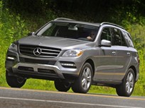 Mercedes-Benz Adds Collision Prevention Assist to M-Class SUV