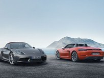 Porsche Introduces 718 Boxster, Boxster S