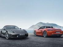 Porsche Introduces 718 Boxster, Boxster S