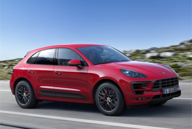 Photo of 2017 Macan GTS courtesy of Porsche.
