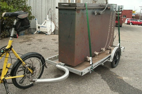 Bikes At Work Trailers Pedal Power The Ultimate