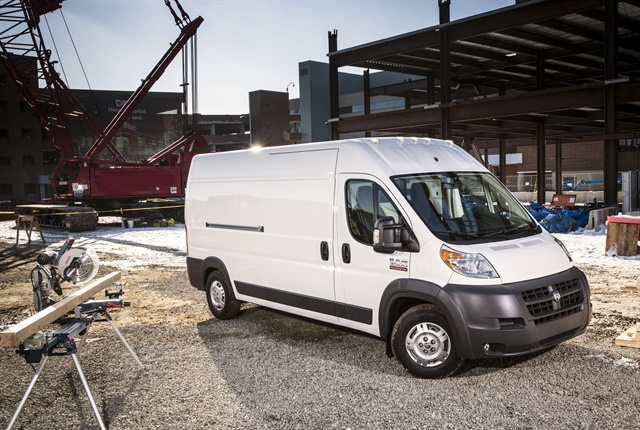 Photo of 2018 Ram ProMaster courtesy of FCA.