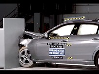 Video: Mercedes-Benz E-Class Sedan Earns Top IIHS Safety Rating