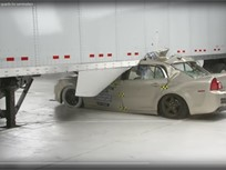 IIHS Tests Show Benefits of Semitrailer Side Underride Guards